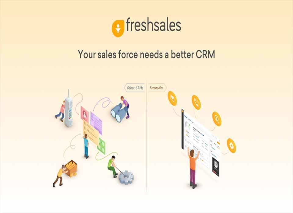 بهترین نرم افزار CRM رایگان freash sales