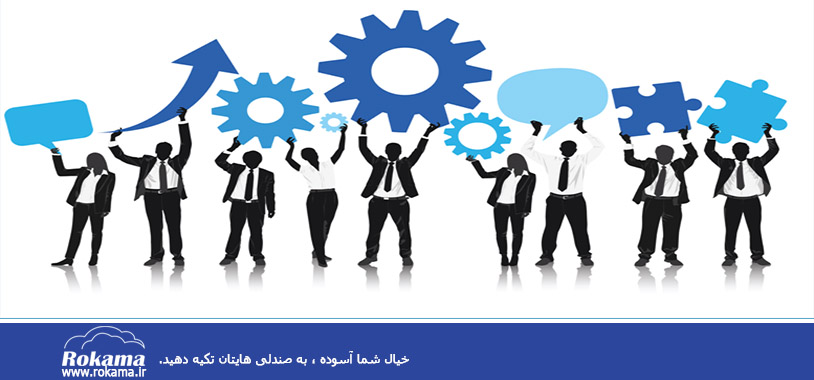 CRM sponsors in the organization حامیان