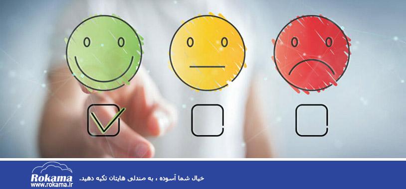 سی آر ام   Customer satisfaction with CRM software نرم افزار CRM   رضایتمندی مشتریان